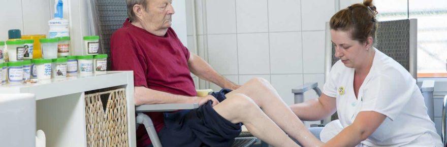 Kneipp-Anwendung in der Pflege