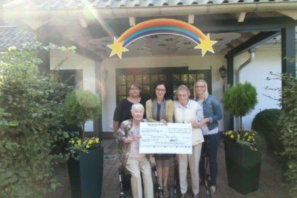 Cura Bergedorf sammelt Spenden für das Kinder-Hospiz Sternenbrücke