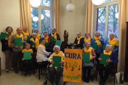"""Cura- Lerchen in Bergedorf singen sich """"die Gedanken frei"""""""