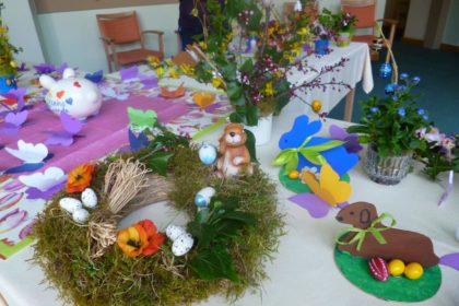 Vorbereitungen auf das Osterfest