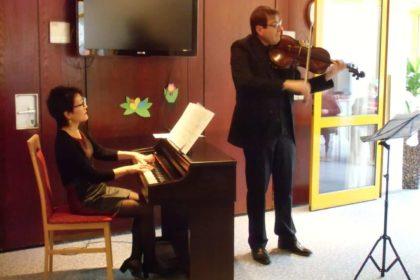 Berliner Philharmoniker musizierten im Christinen-Stift
