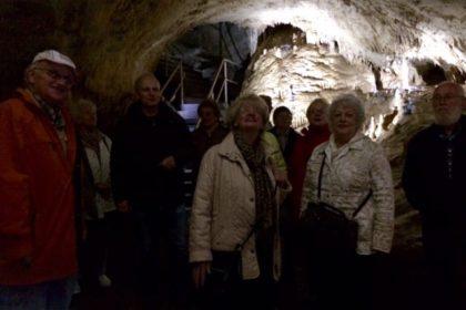 Ausflugsfahrt zur Dechenhöhle am 14.04.2015