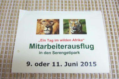 Ein Tag im wilden Afrika