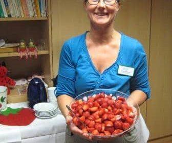 Wir feierten das Erdbeerfest in Bad Sassendorf!