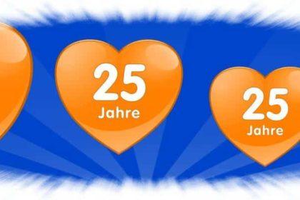 25 Jahre und noch viel länger .. … ein Herz für die Pflege!