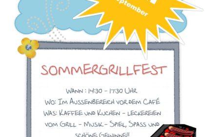 Sommergrillfest im CURA Seniorencentrum Heiligenhafen