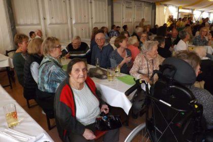 Seniorennachmittag auf dem Dürkheimer Wurstmarkt mit Anita & Alexandra Hofmann