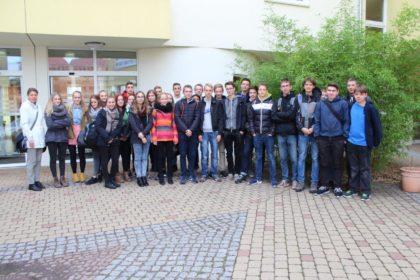 Besuch von den Elisabeth – Gymnasium Schülern