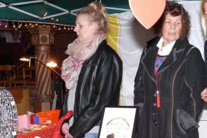 CURA Engagement auf dem Heiligenhafener Adventsmarkt