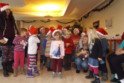 Weihnachtsbesuch im Advent im Cura Seniorencentrum Pasewalk