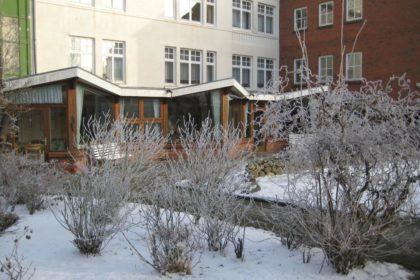 """Winterliche Impressionen aus dem Cura Seniorencentrum Husum """"Villa Spethmann"""""""