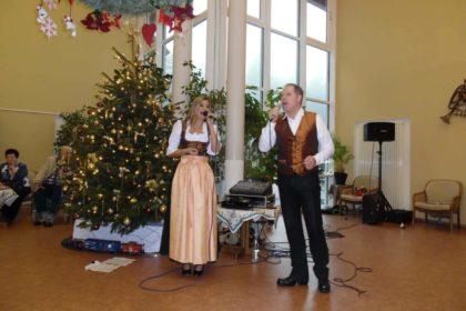 Bewohnerweihnachtsfeier im Angelika Stift Neuhaus