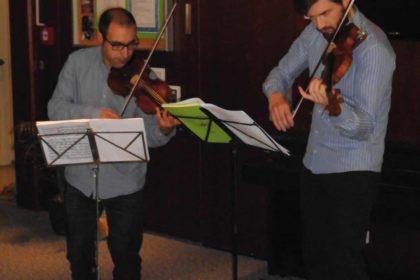 Berliner Philharmoniker gastierten wieder im Christinen-Stift