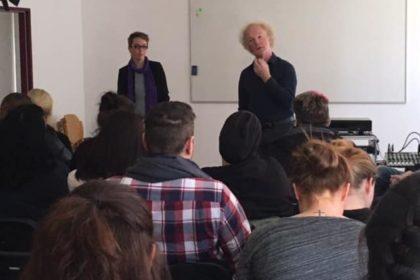 Zweimaleins der Liebe- Theater zum Thema Demenz in der TOP Pflegeschule Essen