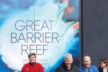 Unser Besuch des Great Barrier Reefs am 19.04.2016