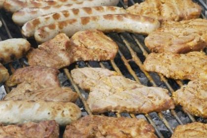 Bratwurst, Steak und gute Laune