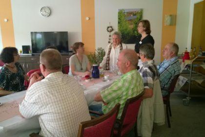 Herzenswunsch erfüllt – Agnes Bäumchen feiert ihren Geburtstag mit der ganzen Familie