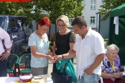Pavillionfest mit der Ergotherapie aus dem Hause CURA Seniorencentrum Pasewalk