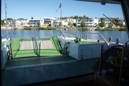Schifffahrt auf dem Markkleeberger See