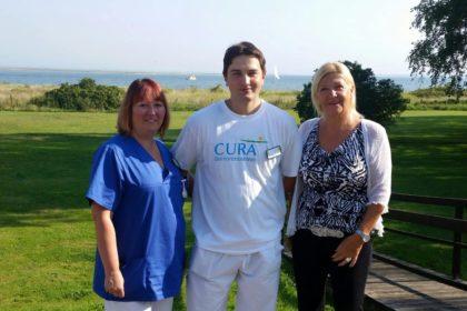 Weit gereiste Verstärkung für unser Pflegeteam der CURA in Heiligenhafen