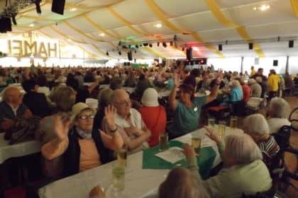 Seniorennachmittag auf dem 600. Wurstmarkt in Bad Dürkheim – das größte Weinfest der Welt