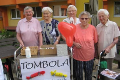 Sommerfest bei CURA Stollberg