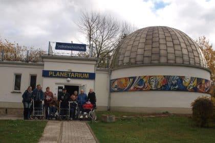 Zu Besuch im Astronomischen Zentrum Schkeuditz