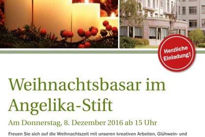 Es weihnachtet sehr – im Angelika-Stift Leipzig-Connewitz