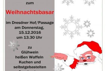 Weihnachtsbasar im Dresdner Hof