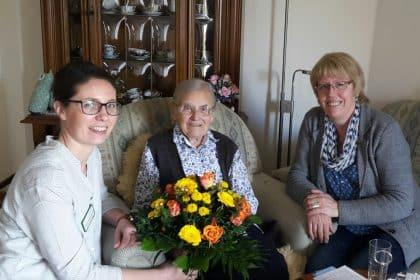 Wir gratulieren zum 103. Geburtstag