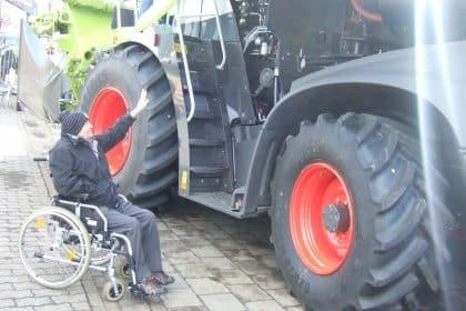 Männerausflug zur Landmaschinenschau