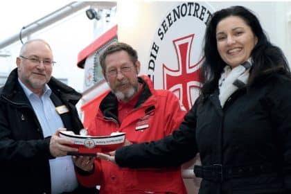 Cura Lilienthal spendet an die Seenotretter