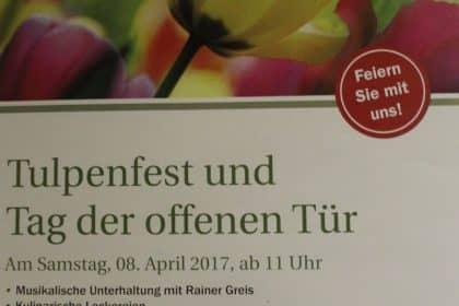 """Frühling lässt sein blaues Band…."" – Tulpenfest im Maternus Seniorencentrum Bonifatius"