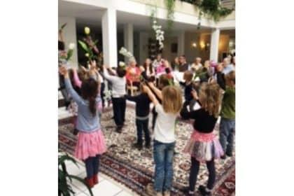 Besuch der Musik-Kinder