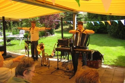 Gartenfest in der CURA Stollberg
