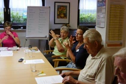 Info-Café zum Mitmachen im CURA Seniorencentrum Bad Sassendorf