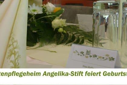 Jubiläumsnachlese – 20 Jahre Angelika-Stift in Leipzig-Connewitz