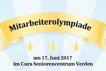 Highlight des Sommers: Mitarbeiter-Olympiade in Verden am 17.06.2017