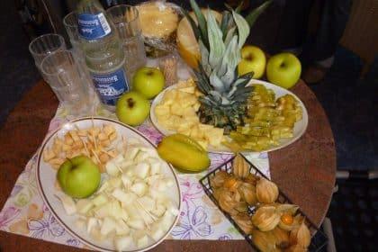 Themenabend Obst- und Obstverkostung am Kamin