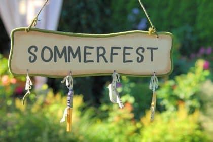 Wir feiern unser Sommerfest und Sie sind herzlich eingeladen!