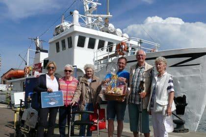 Jubiläumsfahrten – Reederei Mirko Stengel zeigt 10 Jahre Herz für CURA-Senioren