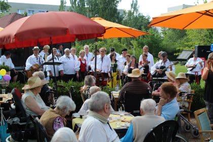 Sommerfest im CURA SC Halle-Silberhöhe