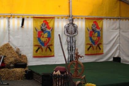 Willkommen im Mittelalter hieß es beim Sommerfest des CURA Seniorencentrums Bad Sassendorf