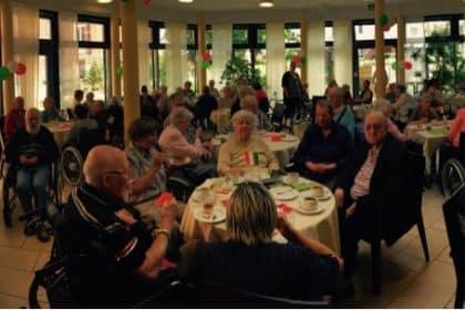 Ein bisschen Italien im Cura Seniorencentrum Bergedorf