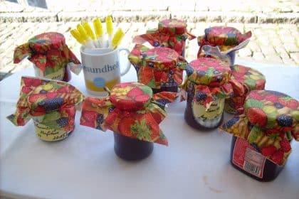 Marmelade für das Marktfest