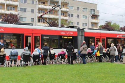 Eine Stadtrundfahrt mit der Straßenbahn