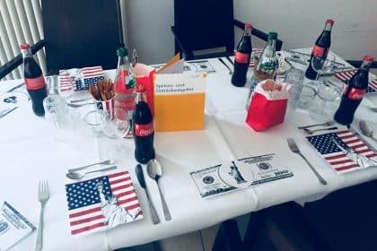 Das diesjährige Candle Light Diner