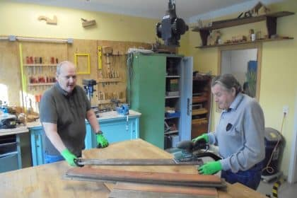 Unsere Bewohner in der Holzwerkstatt