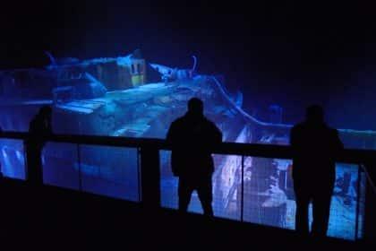 Wrack der Titanic im Asisi Panometer