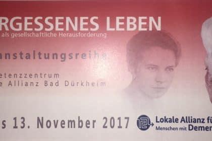 Vergessenes Leben – Markt der Möglichkeiten im Mehrgenerationenhaus Bad Dürkheim